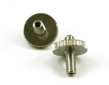 ARCHTOP TUNEOMATIC SCREW & WHEEL CHROME