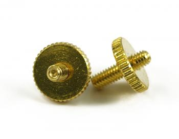ARCHTOP TUNEOMATIC SCREW & WHEEL GOLD
