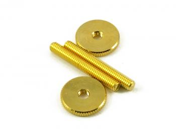GOTOH TUNEOMATIC SCREW & WHEEL GOLD