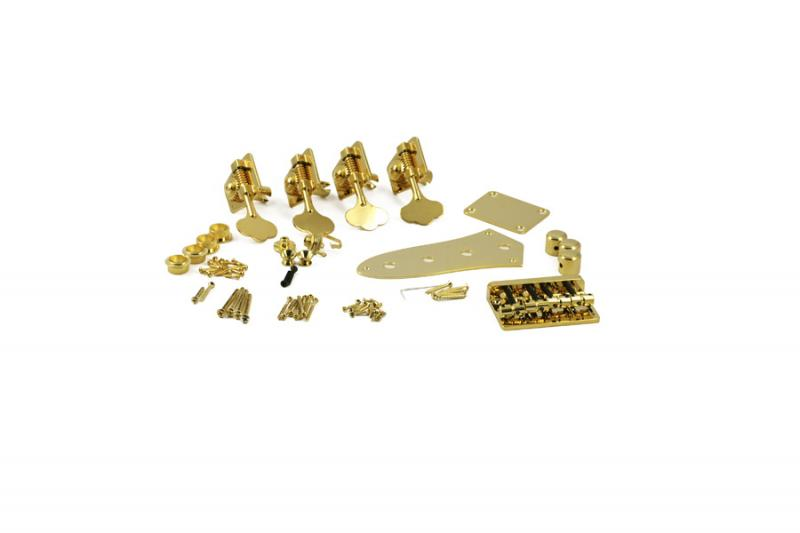JAZZ BASS DELUXE GOLD HARDWARE UPGRADE KIT
