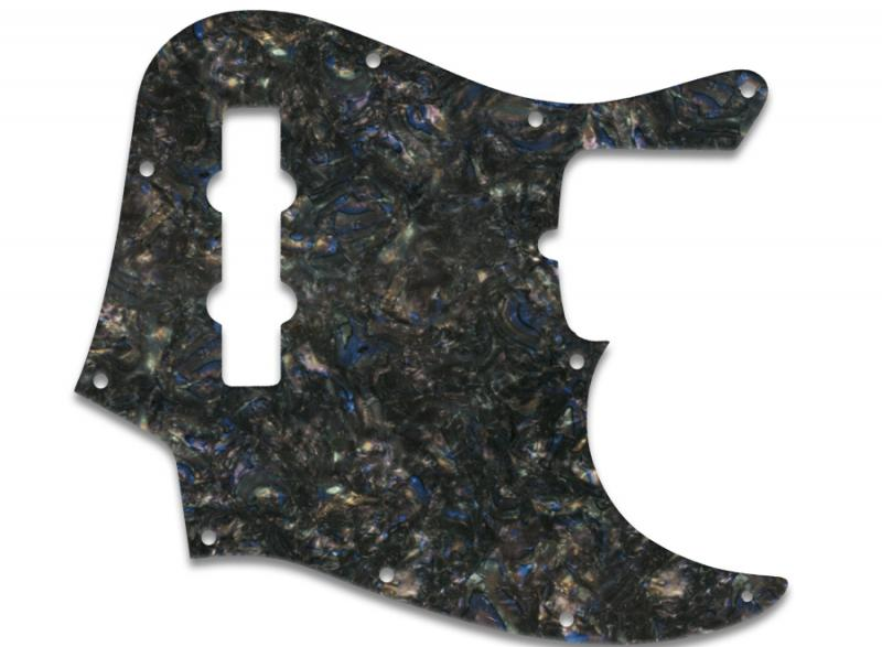 FENDER JAZZ BASS PICKGUARD ABALONE