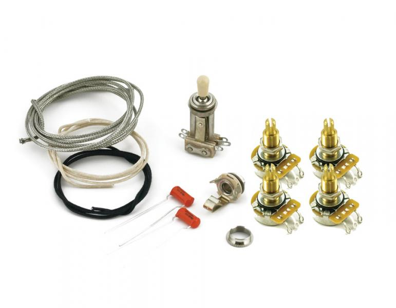 LES PAUL WIRING KIT LONG SHAFT
