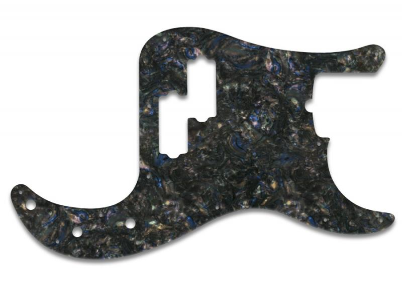 FENDER PRECISION BASS PICKGUARD ABALONE