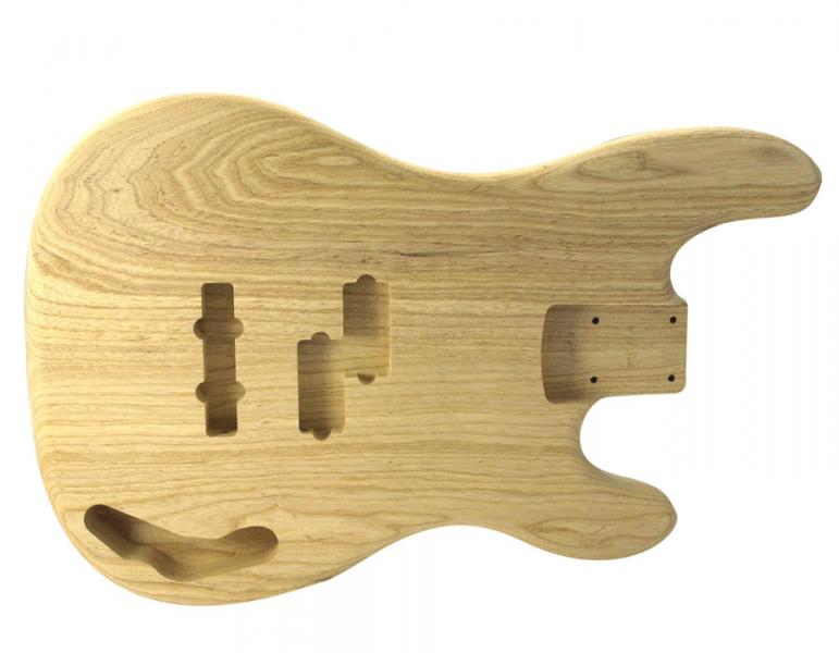 PJ BASS BODY SWAMP ASH UNFINISHED