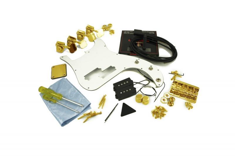 PRECISION BASS GOLD HARDWARE UPGRADE KIT