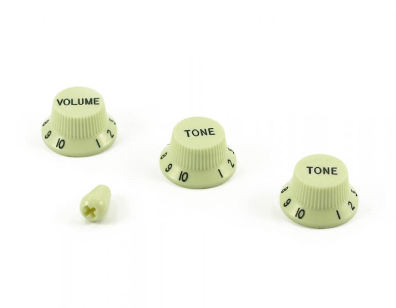 Volume & Tone Knob Set Mint Green