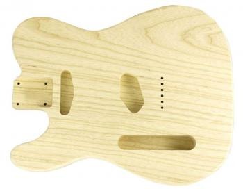 TELE BODY LIGHTWEIGHT SWAMP ASH UNFINISHED-LEFT HANDED