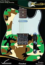 CAMOUFLAGE FACELIFT FOR TELECASTER