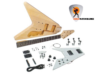 V Electric Guitar Kit