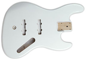 JAZZ BASS BODY VINTAGE WHITE
