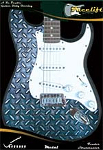 DIAMOND PLATE FACELIFT FOR STRATOCASTER
