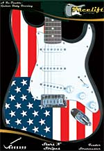 AMERICAN FLAG FACELIFT FOR STRATOCASTER