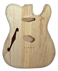 TELE BODY HOLLOW SWAMP ASH
